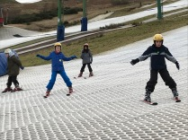 back on the dry slope