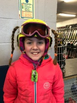that's how you keep pigtails when skiing