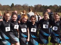 P6 girls team